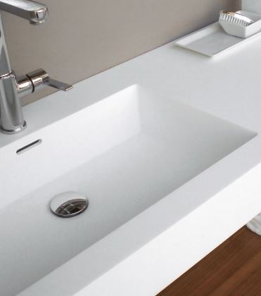 What A Solid Surface Fabrication Brings, Solid Surface Bathroom Sink