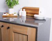 Acrylic-Worktop-End-Dark-Colour-In-Kitchen